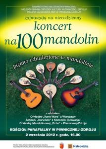 Koncert na Sto Mandolin 2012